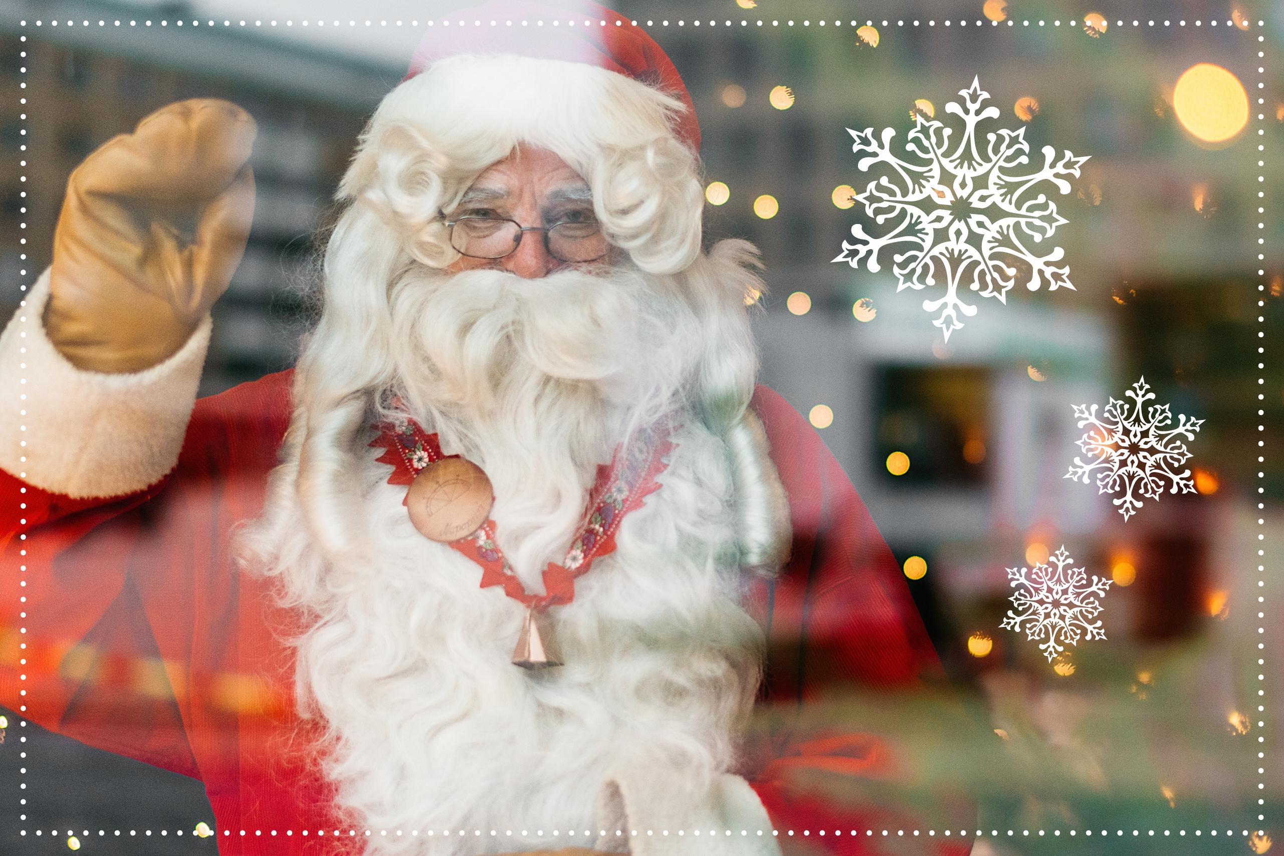 Joulupukki Pasaatissa